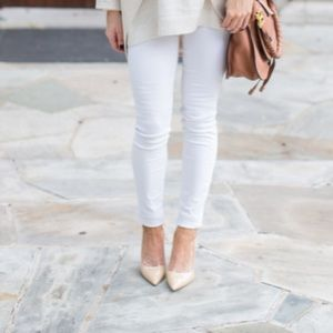Style idea for cream mules listed